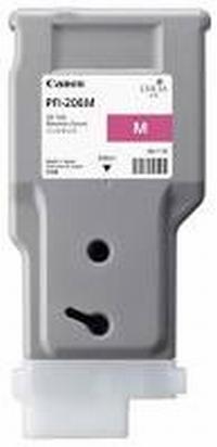 PFI-206M Чернильница пурпурная для плоттеров Canon imagePROGRAF iPF6400/6400SE/6450, 330мл