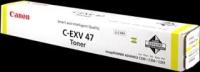 C-EXV47Y Желтый картридж для Canon imageRUNNER ADVANCE С351iF/C350i/C250i, ресурс 21 500 стр.