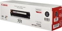 Cartridge 731Bk Черный картридж для Canon i-SENSYS MF8230Cn, MF8280Cw, MF628Cw, MF623Cn, ресурс 1400 стр.