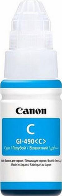 GI-490C Чернильница синяя для МФУ Canon Pixma G1400/G2400/G3400/G4400, ресурс до 7000 стр.