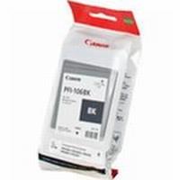 PFI-106BK Чернильница черная для плоттеров Canon imagePROGRAF iPF6400S/6400SE, 130мл