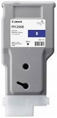 PFI-206B Чернильница голубая для плоттеров Canon imagePROGRAF iPF6400/6450, 330мл