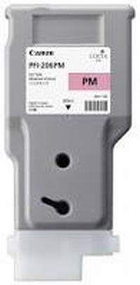 PFI-206PM Чернильница фото пурпурная для плоттеров Canon imagePROGRAF iPF6400/6450, 330мл