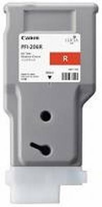 PFI-206R Чернильница красная для плоттеров Canon imagePROGRAF iPF6400/6400SE/6450, 330мл