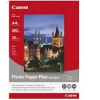 1686B021/SG-201 Фотобумага Canon полуглянцевая, 260г/м2, A4(21X29)