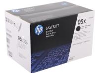 CE505XD/№05XD Картридж двойной увеличенной емкости для принтеров HP LaserJet LJ P2055, ресурс 13 000 стр. (2 картриджа по 6500 стр. каждый)