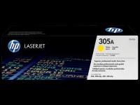 CE412A/№305 Картридж жёлтый для HP CLJ Pro 300 Color M351 /Pro 400 Color M451/Pro 300 Color MFP M375