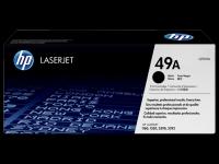 Q5949A/№49А Картридж для принтеров HP LaserJet серий 1160/1320/3390/3392, ресурс 2500 стр.