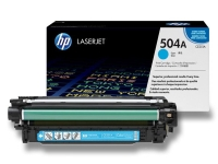 CE251A/№504A Картридж синий для HP Color LaserJet CM3530/CM3530fs, CP3525dn/CP3525n/CP3525x, ресурс 7000 стр.