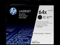 CC364XD/№64X Картридж увеличенной емкости двойной для HP LJ серий P4014/P4015/P4515