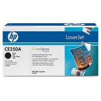 CE250A Чёрный картридж  для HP Color LaserJet CM3530/CP3525
