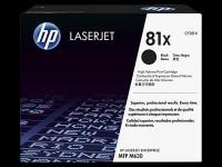 CF281X Оригинальный лазерный картридж HP LaserJet увеличенной емкости 81X, Черный