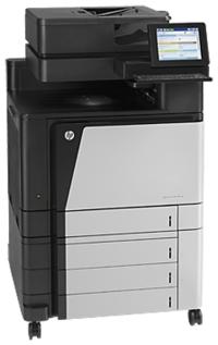 многофункциональное устройство - МФУ Hewlett-Packard Color LaserJet Enterprise flow MFP M880z