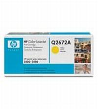 Q2672A Картридж HP CLJ3500/3550 (yellow) 4000 стр. (o)