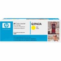 Q3962A Желтый картридж для для принтеров HP Color LaserJet 2550/2820/2840