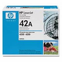 Q5942A картридж HP Black для LaserJet 4250/4350 {стандартной ёмкости, до 10000 с