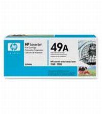 Q5949A Чёрный картридж HP LaserJet для принтеров HP LaserJet серий 1160/1320/3390/3392