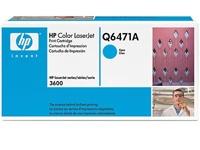 Q6471A Картридж голубой для HP LJ 3600