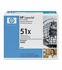 Q7551X Чёрный картридж  для принтеров HP LaserJet серии P3005