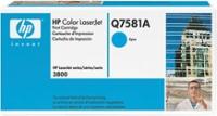 Q7581A Картридж HP CLJ3800/3505 (cyan) 4000стр. (o)