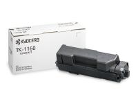 TK-1160 Тонер картридж Kyocera для P2040dn/P2040dw (ресурс 7'200 c.)