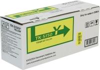 TK-5150Y (yellow) Тонер картридж желтый для P6035cdn/M6035cidn/M6535cidn (ресурс 10'000 c.)