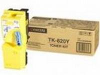 TK-820Y (yellow) Тонер картридж желтый для Kyocera KM-C8100DN (ресурс 7'000 c.)