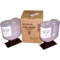 TK-980 Тонер картридж для TASKalfa 2420W (2 тубы, ресурс 1000 формата А0)