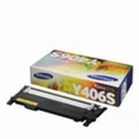 CLT-Y406S Картридж Samsung для CLP-360/365/365W/CLX-3300/3305/3305W/3305FN/3300FW, SL-C410W SL-C406W/C406FW