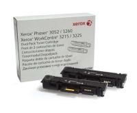 106R03048 Тонер-картридж XEROX Phaser 3020/WC 3025 2 х 1.5K
